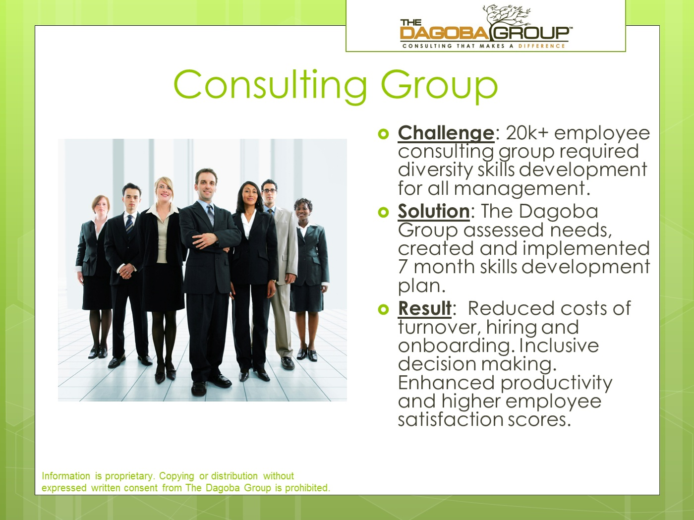 case studies consulting